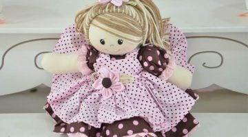 como fazer boneca de pano para vender