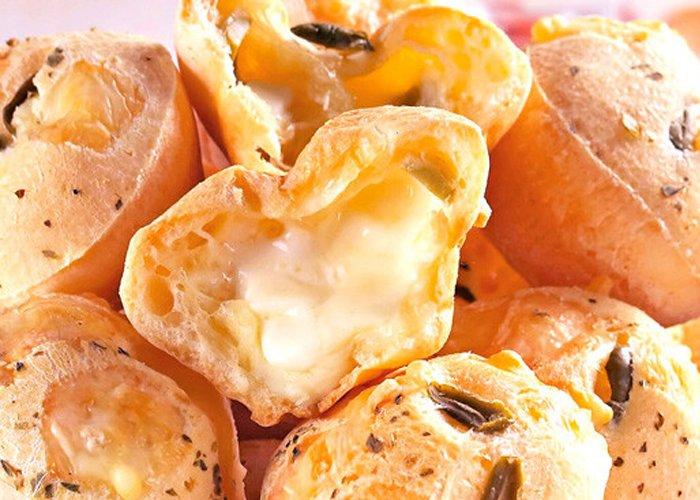 pão de queijo recheado para vender