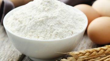 como é feita a farinha de trigo