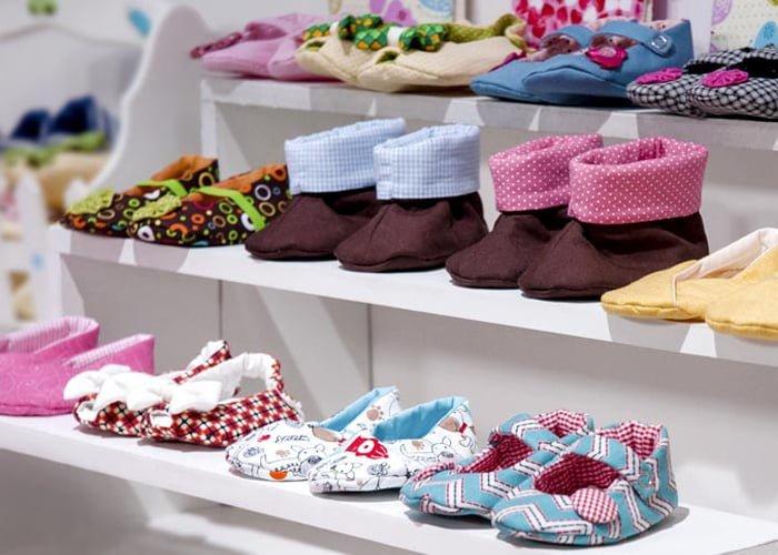 como fazer sapatinhos de bebê para vender