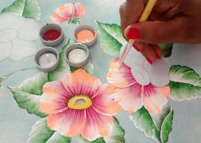 ganhar dinheiro com pintura em tecido