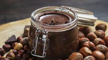 como é feita a nutella
