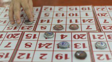 como organizar um bingo