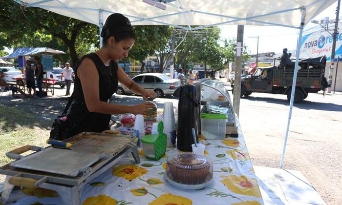 vender café na rua