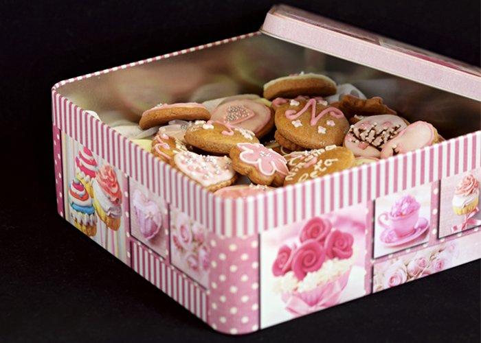 Embalagem para biscoitos amanteigados