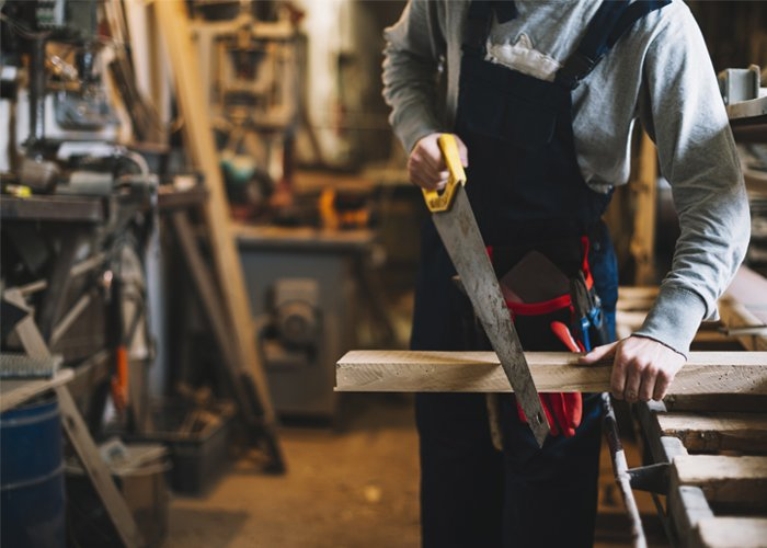 Ferramentas para trabalhar com carpintaria