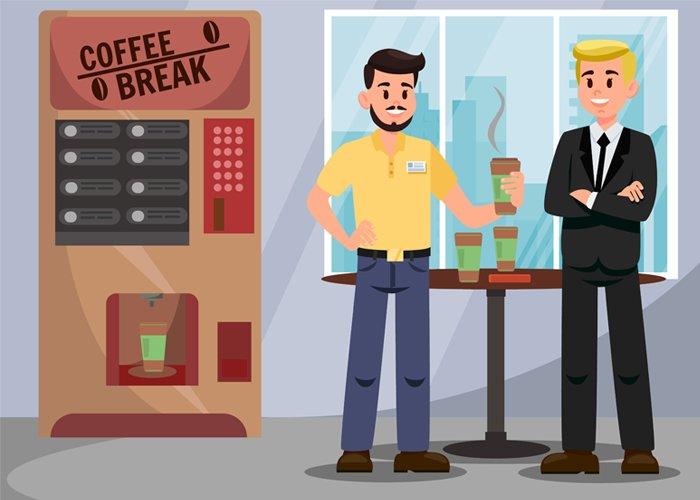 Vending machine de café