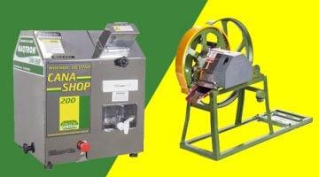 máquina de fazer caldo de cana