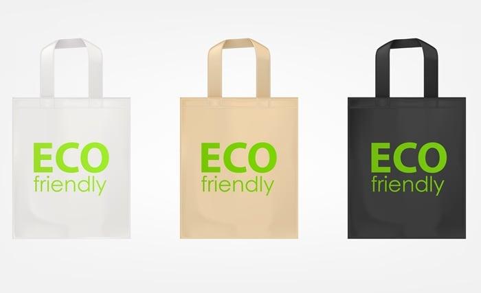 Vender sacolas ecológicas