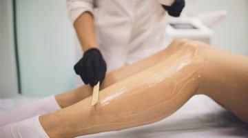 Material para começar a trabalhar com depilação