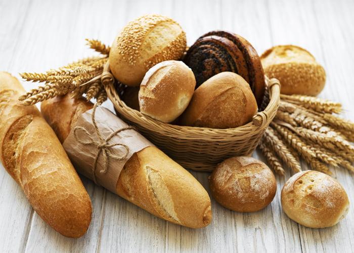 variedades de produtos de padaria