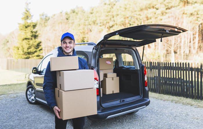 Ideias de aplicativos de entrega com carro