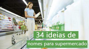 nomes para supermercado