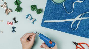 Lista de materiais para fazer laços e tiaras