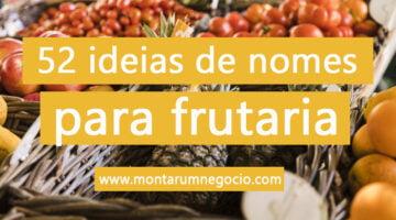 nomes para frutaria
