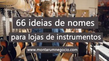 nomes para lojas de instrumentos musicais