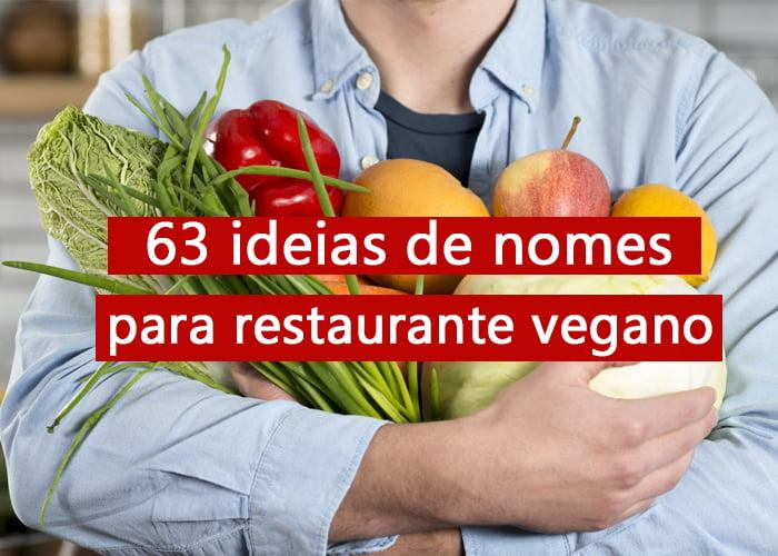 nomes para restaurante vegano