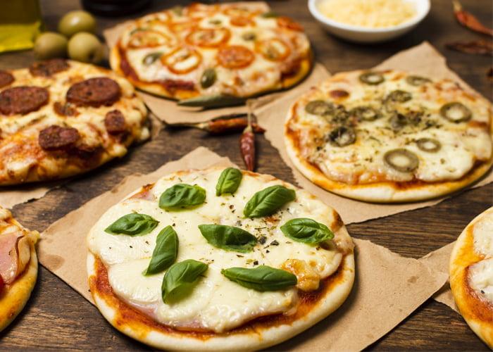 sabores de pizza brotinho para vender