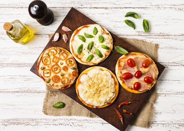 sabores de pizza brotinho
