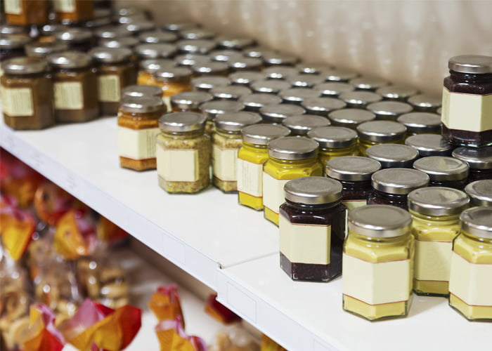 faturamento de uma loja de produtos naturais
