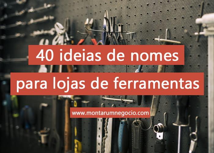 nomes para lojas de ferramentas