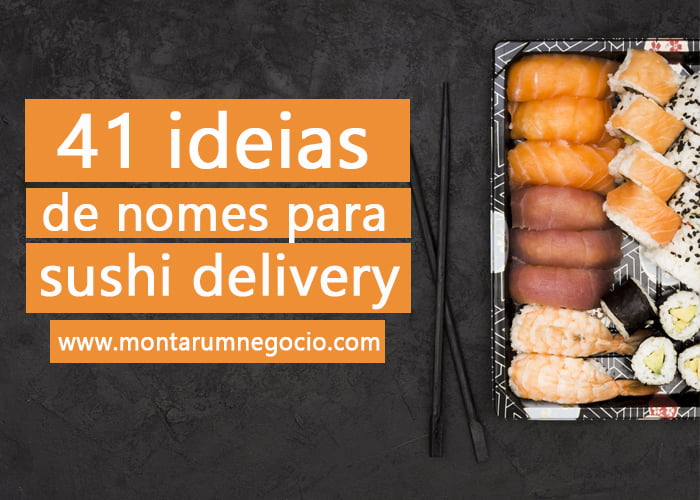 nomes para sushi delivery