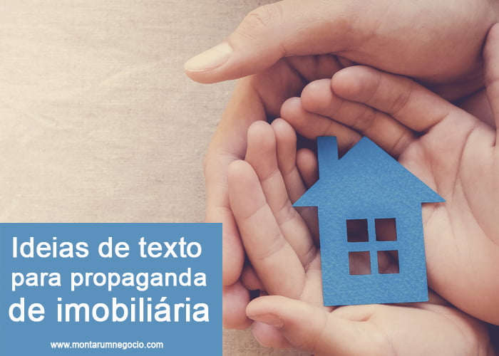Texto para propaganda de imobiliária