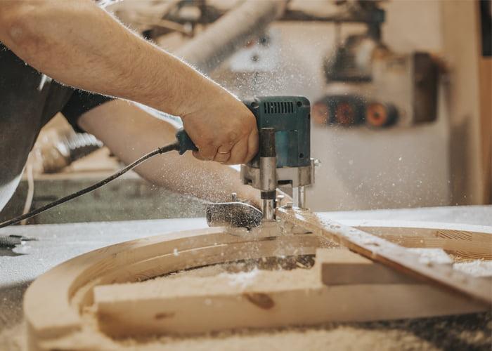 como funciona uma serraria