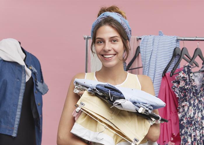comprar fardo de roupas usadas