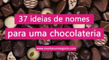 nomes para chocolateria