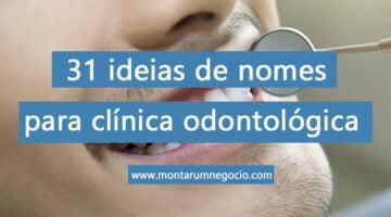 nomes para clinica odontologica