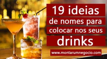 nomes criativos para drinks