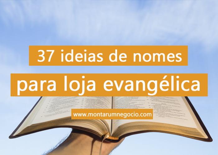 nomes para loja evangélica