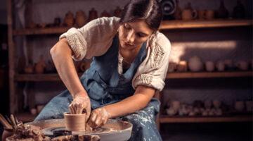equipamentos para trabalhar com cerâmica artesanal