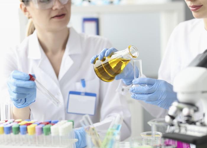 faturamento de um laboratório de análises clínicas