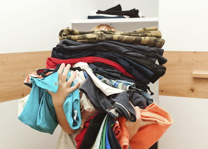 Vender roupas usadas para brechó
