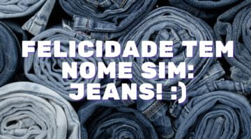 anúncio para vender jeans
