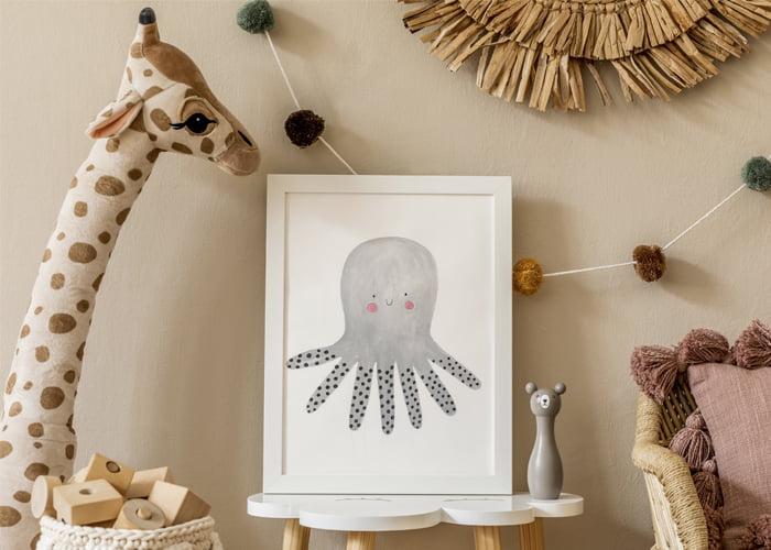 artesanatos decorativos para bebê