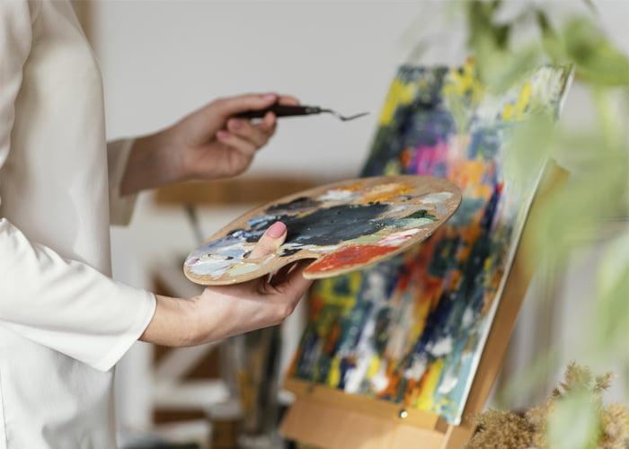 como ganhar dinheiro com pintura em telas