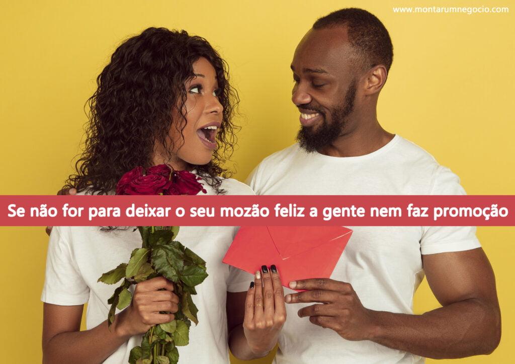 propaganda de vendas para o dia dos namorados