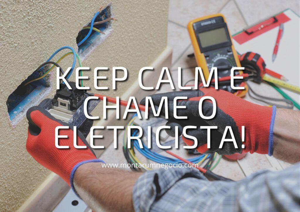 como divulgar trabalho de eletricista
